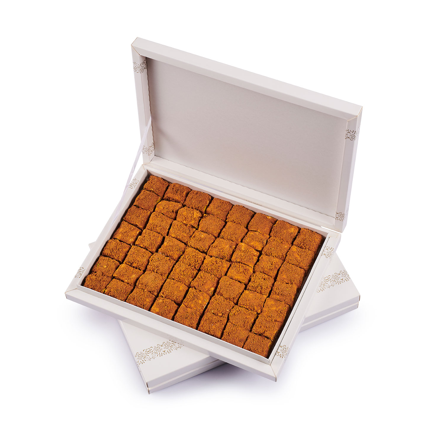 Turkish delight with Lotus biscuits